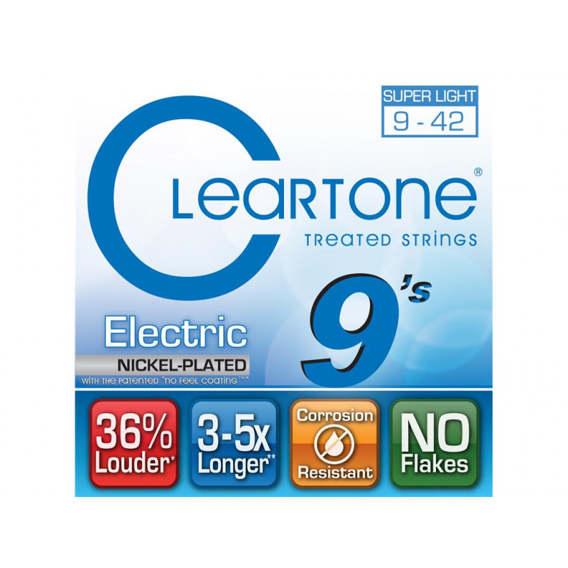 Cleartone Superlight Electric Strings