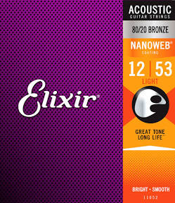 Elixer 11052 acoustic strings
