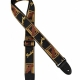 Fender Strap Black Yellow Brown