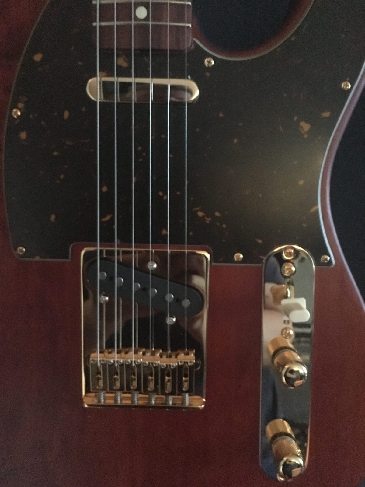 Telecaster Corebeth front close