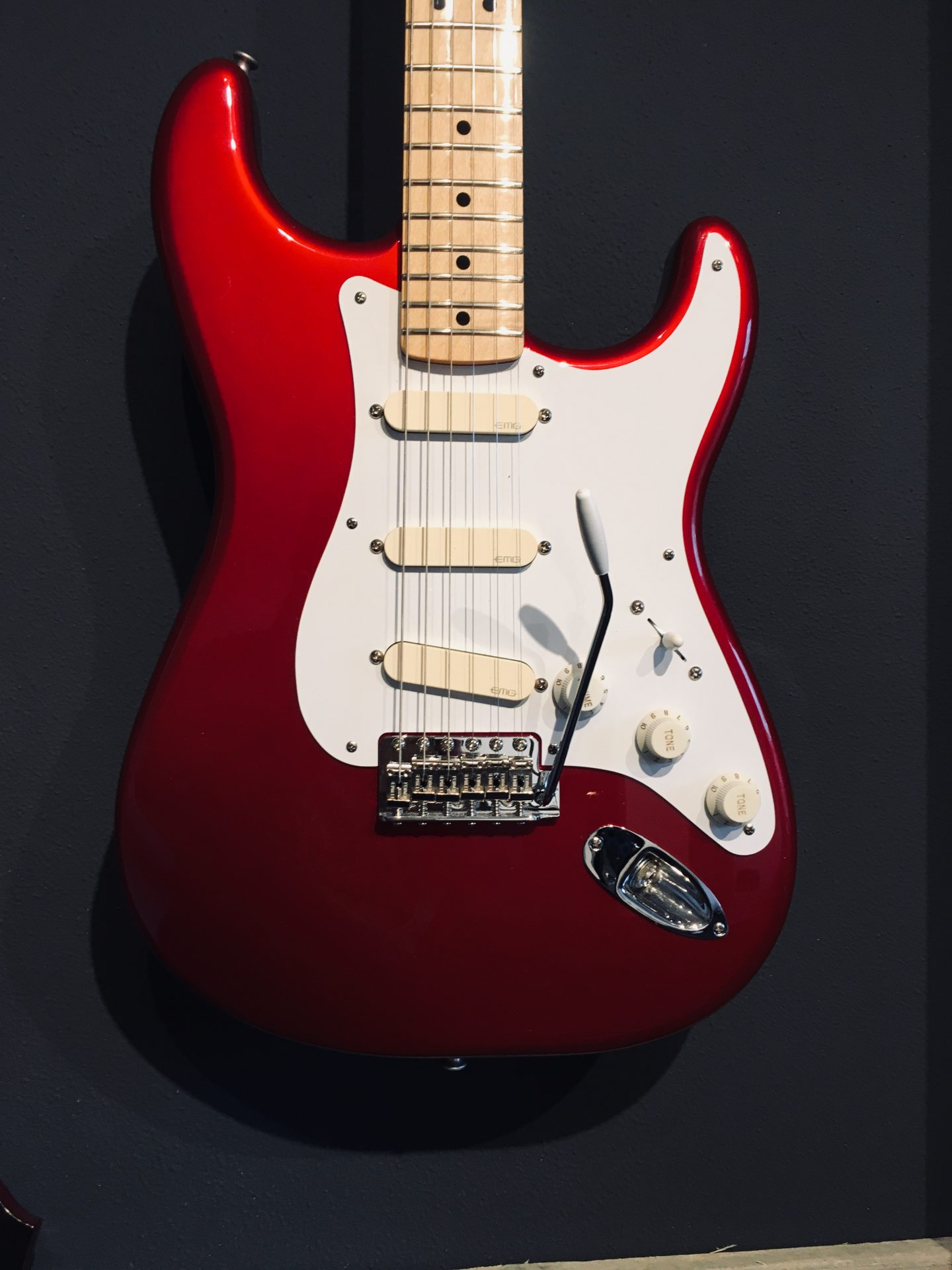 Fender Red Strat by Corebeth Guitar Shop